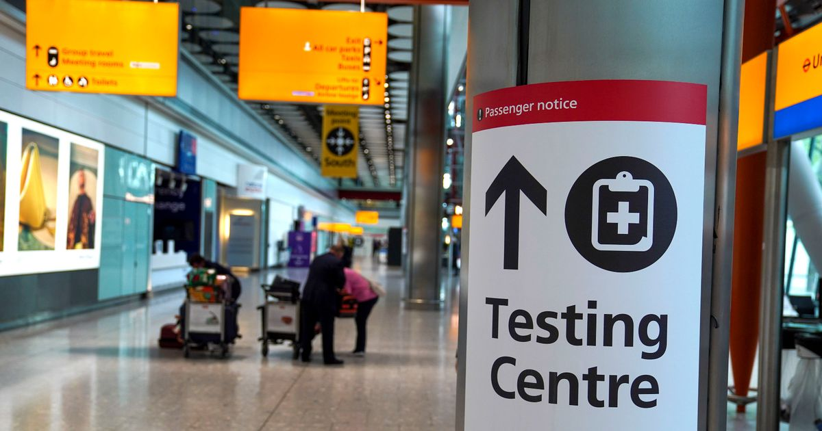 PCR test could be replaced by rapid, cheaper version at airports