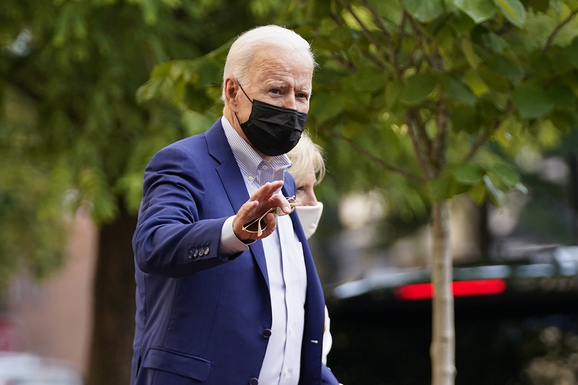 Polls show Biden's approval rating sliding to new lows