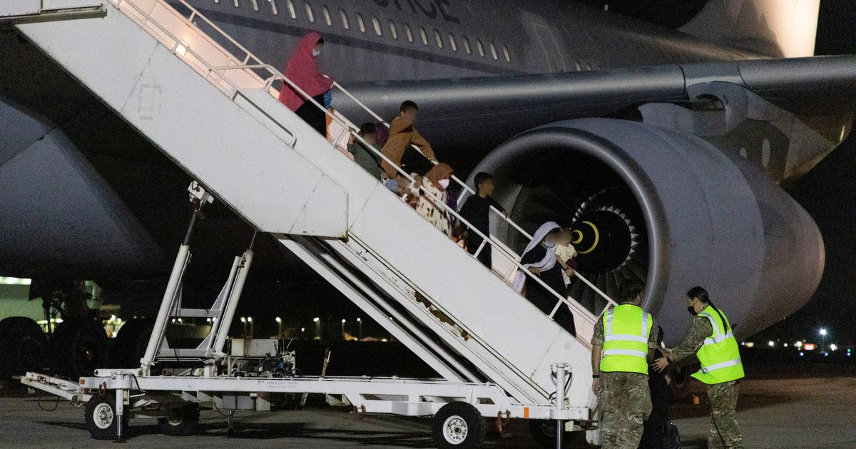 RAF airlifts 12,000 out of Afghanistan as departure deadline looms