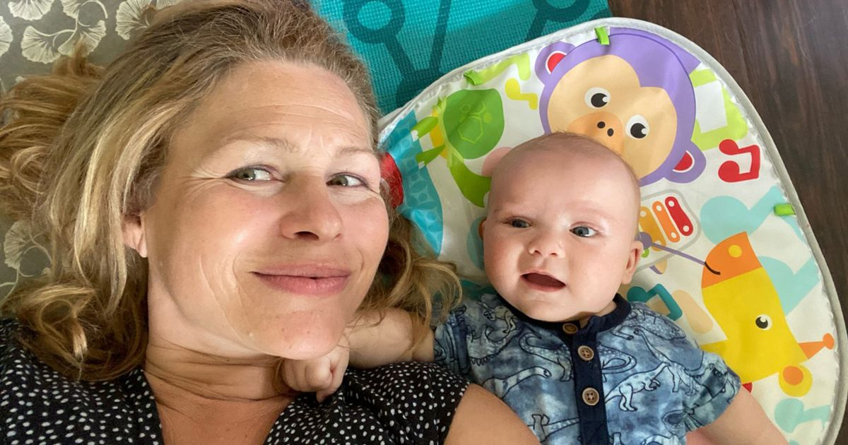 CATERS NEWS - (PICTURED Laura and her youngest child, Jack) A single mum by choice has got her dream family ahead of her 50th birthday after having her second baby alone at the age of 49. Mum-of-three, Laura Sterne, from Toronto, Canada, has become a single mum by choice for a second time after giving birth to her son, Jack, in May, and has completed her dream family in time for her 50th birthday. The 49-year old also has two daughters, Avery, 15, from her previous marriage, and three-year-old Alexandra, who is the first baby she had as a solo mum by choice when she was 46. Laura says that she was determined to complete her family ahead of her 50th birthday - even if that meant going it alone and becoming a solo parent. SEE CATERS COPY