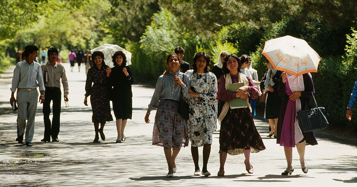 Stunning photos show Afghan women's fashion freedom in decades past
