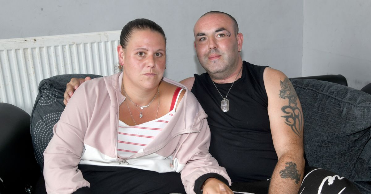 Terrified family living in rat infested home say rodents bite through their walls and floorboards