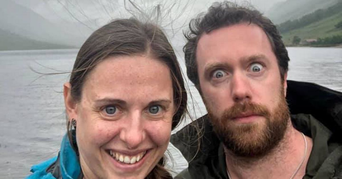 Terrifying photo shows how close couple came to death during innocent walk