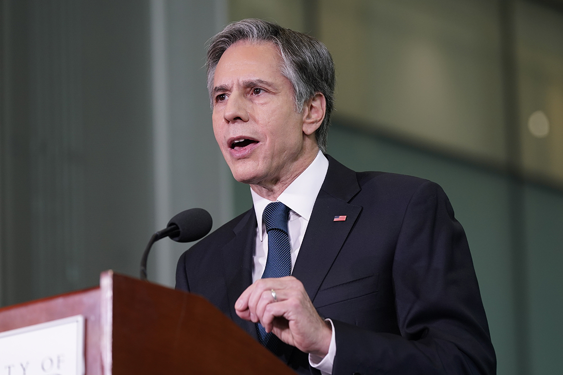 Terror threat in Afghanistan has diminished since 2001, Blinken says
