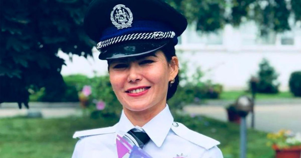 Top Afghan policewoman, Gulafroz Ebtekar is on the run in Kabul after being beaten by Taliban