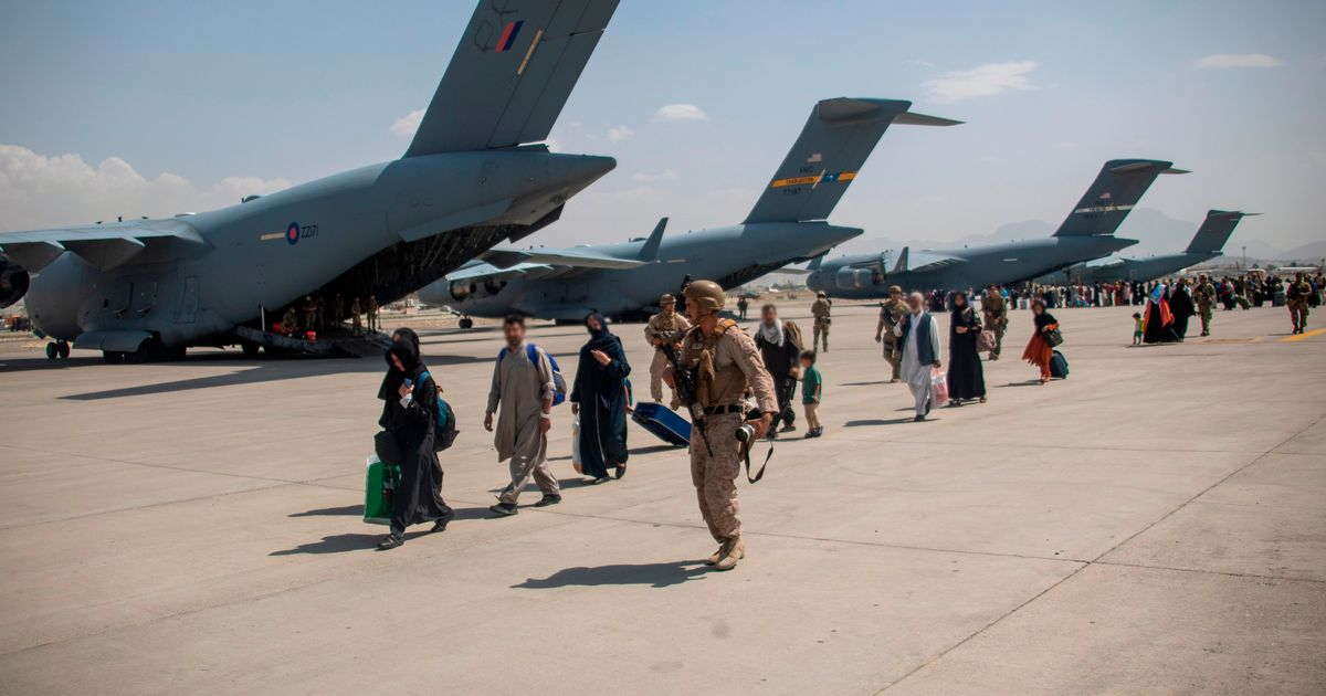 UK 'will try to keep airport open' in Afghanistan after troops withdraw on August 31