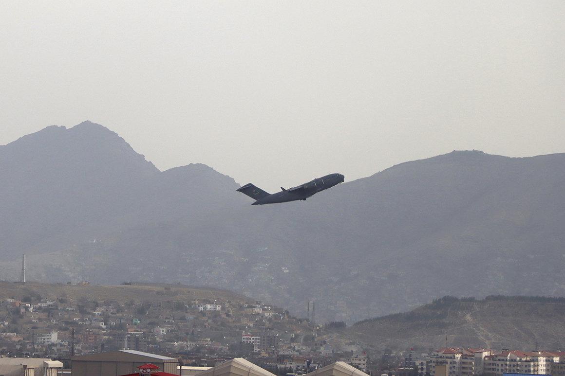 U.S. ends 20-year mission in Afghanistan