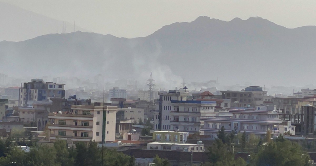 U.S. forces strike ISIS-K target which posed 'imminent threat' to Kabul's airport