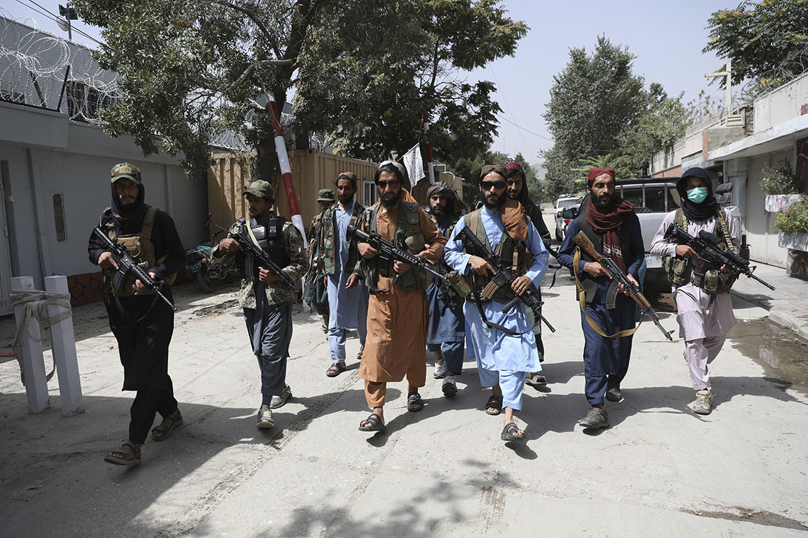 U.S.-made weapons seized by Taliban could lead to regional arms bazaar