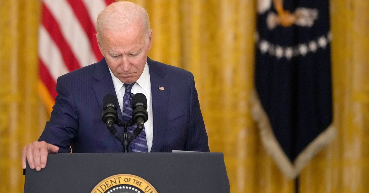 US President Joe Biden is under pressure amid the chaotic withdrawal of US troops from Afghanistan