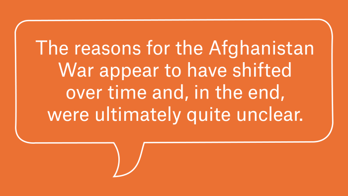 Why The Domestic Political Fallout From The Afghanistan War Is So Hard To Assess