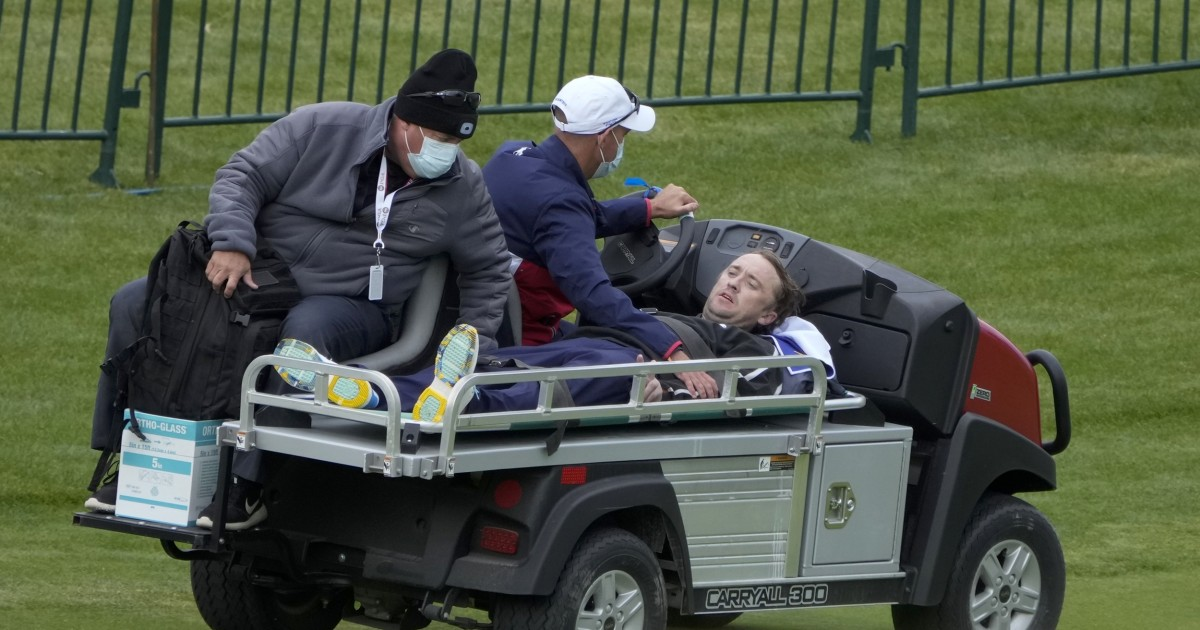 'Harry Potter' actor Tom Felton collapses at Ryder Cup