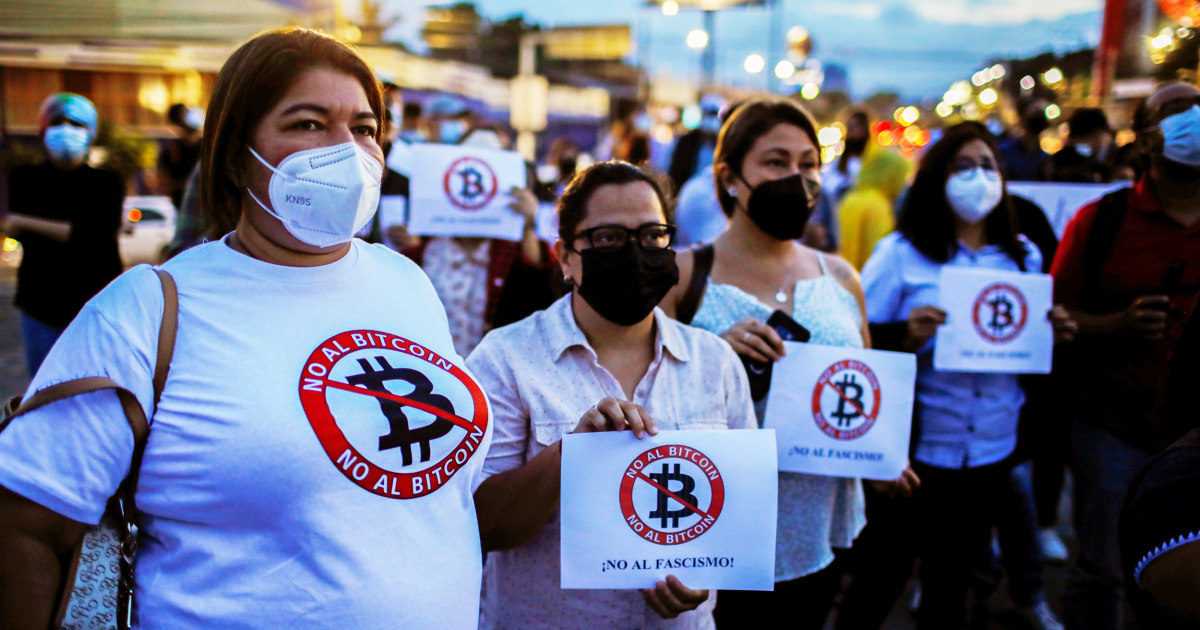 'We don't know anything':  Salvadorans worry about Bitcoin becoming legal tender