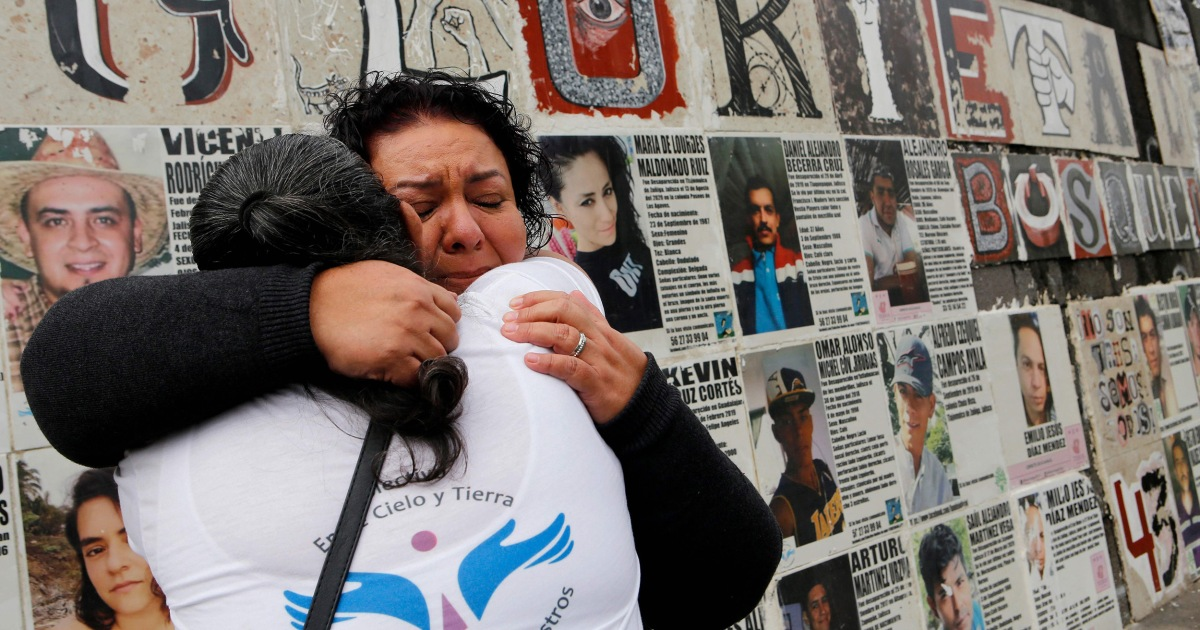 'We live searching': Mexico families look for the missing, while 52,000 aren't identified