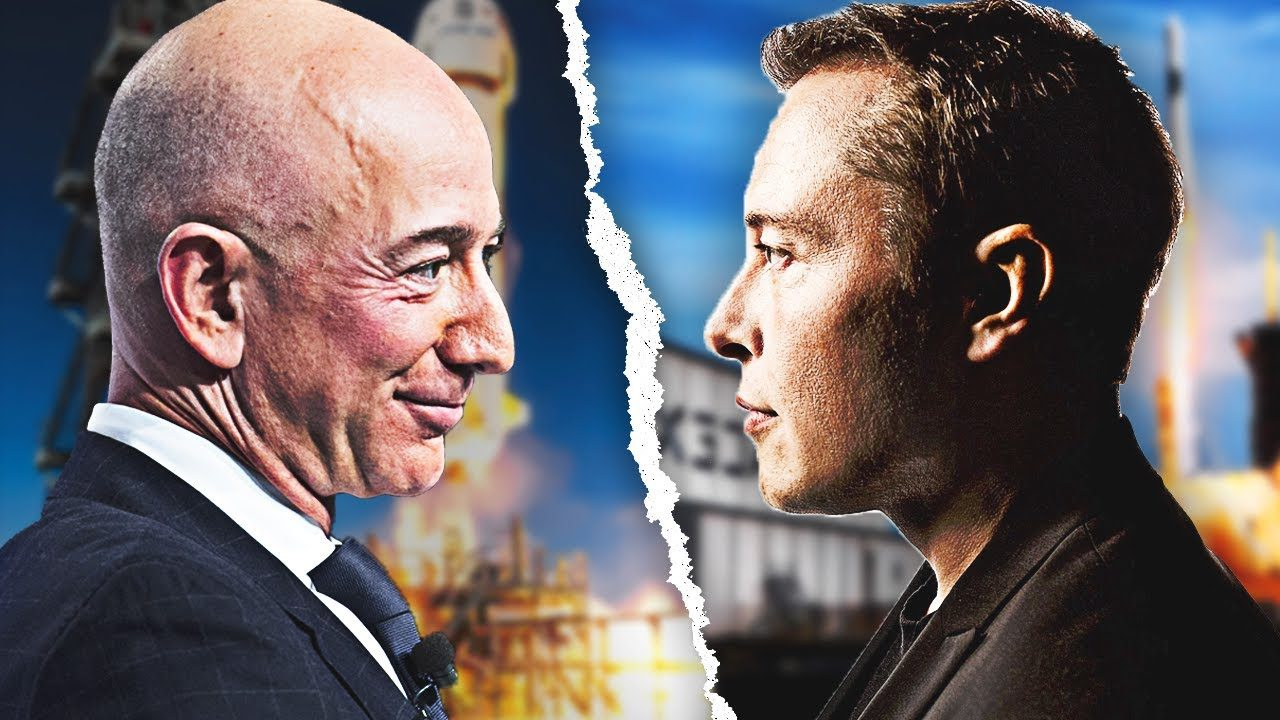 Elon Musk vs Jeff Bezos: Who is better at space transportation?