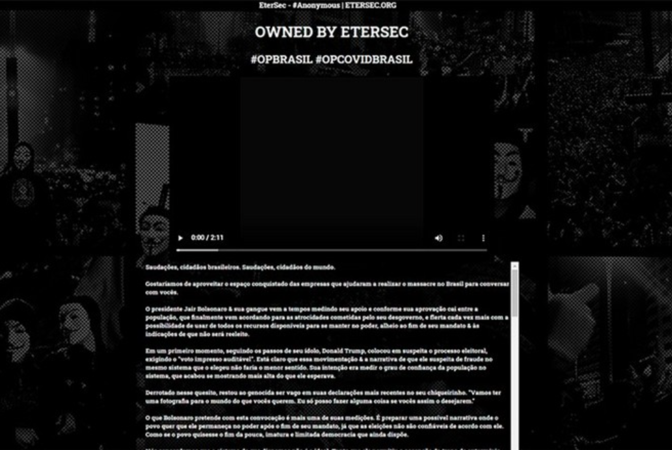 After alleged coup threats, Anonymous declares 'war' against Bolsonaro 1