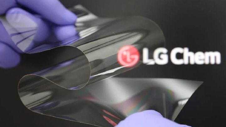 LG Presents a Flexible Screen That Does Not Wrinkle