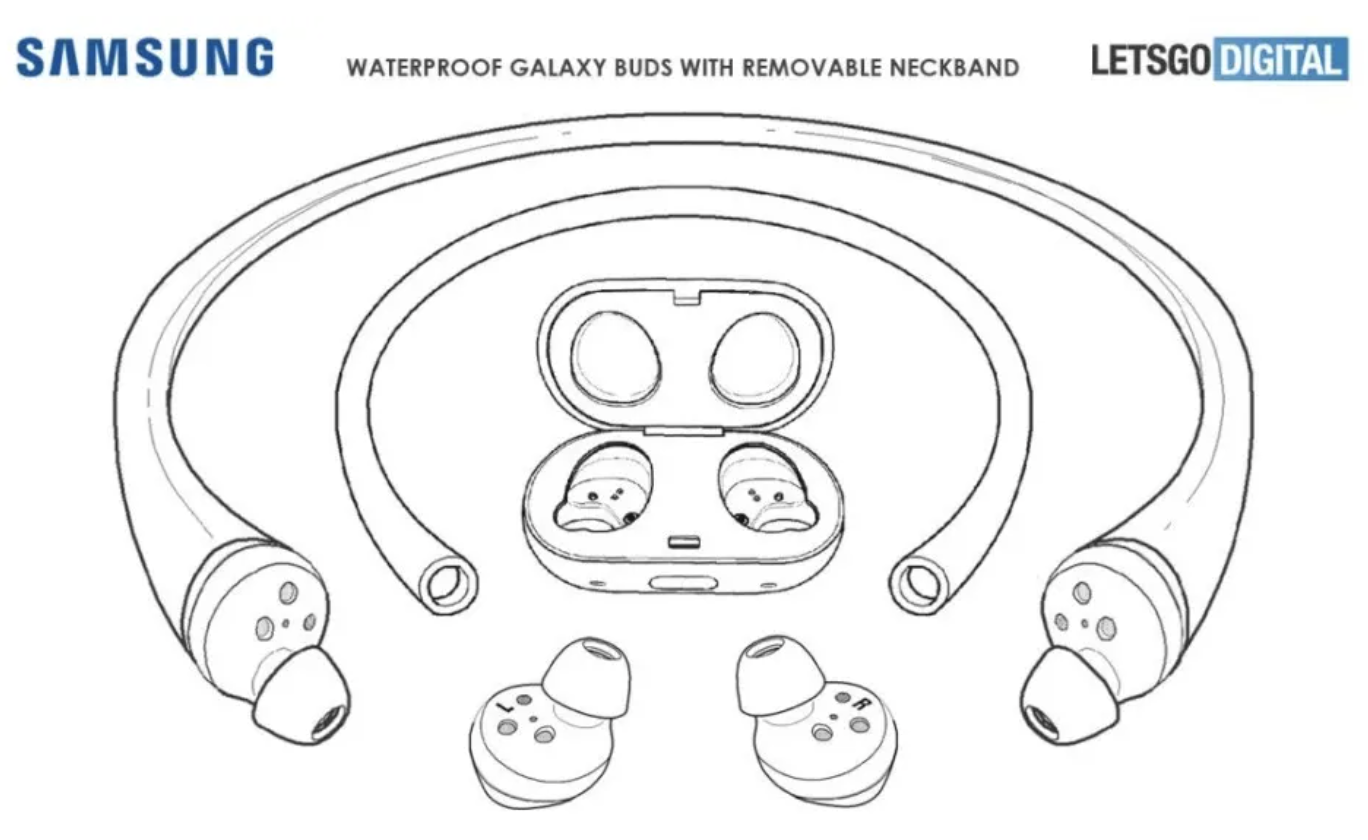 New patent from Samsung: Music experience underwater 1