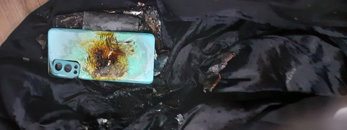 OnePlus Nord 2 Explodes In A Lawyer's Coat in India