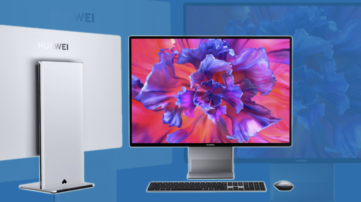 Huawei introduced its first All-in-One model: MateStation X