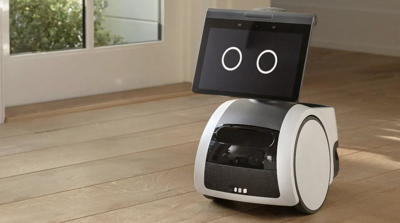 Amazon Unveils Its First Smart Home Robot