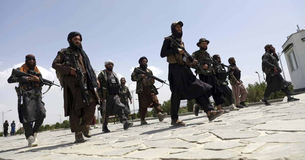 A U.S. general warned the Taliban to stay out of Kabul or be bombed. The Taliban rolled into Kabul anyway.