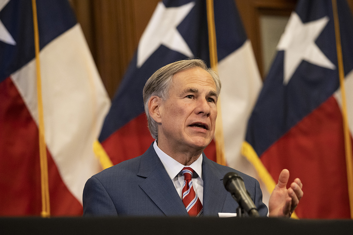 Abbott says Texas vote audits aren't all about Trump