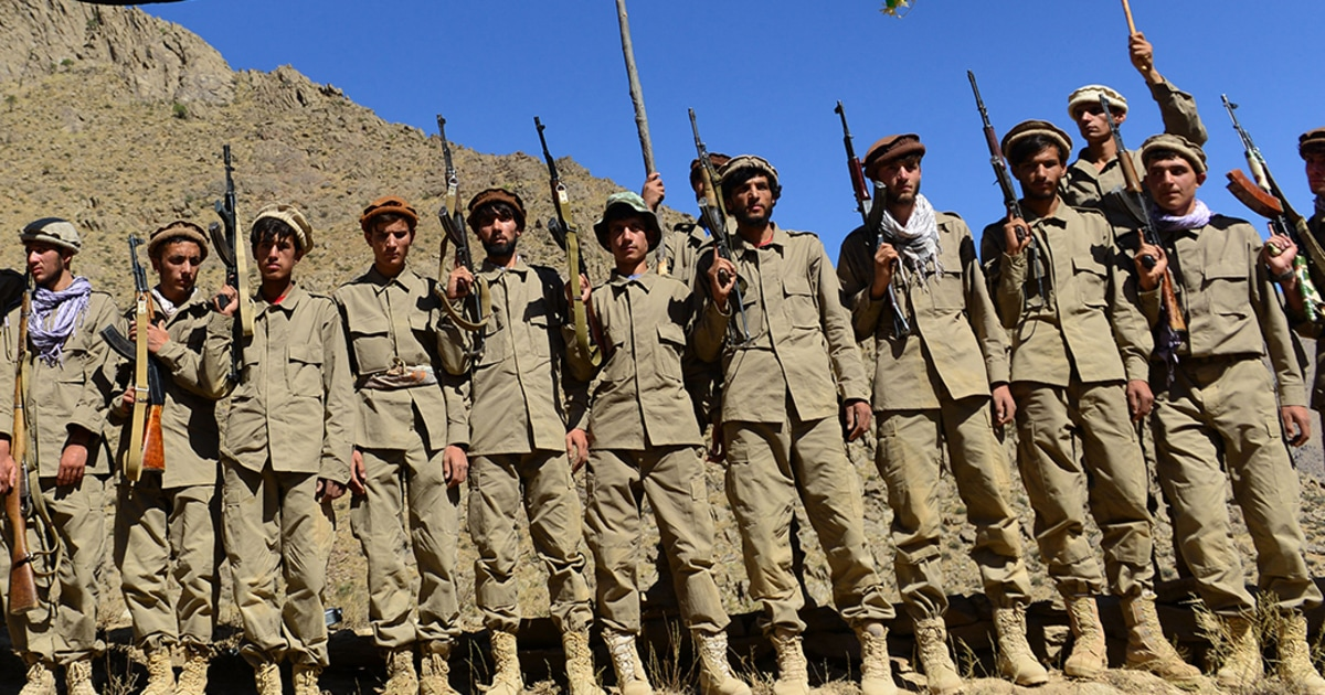 Afghan resistance digs in to defend one remaining valley not conquered by Taliban