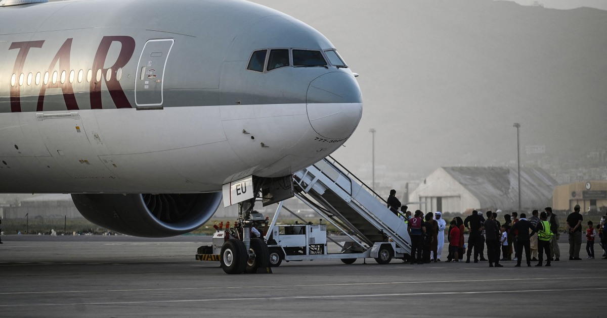 Afghanistan evacuation flights into U.S. paused after diagnosed measles cases