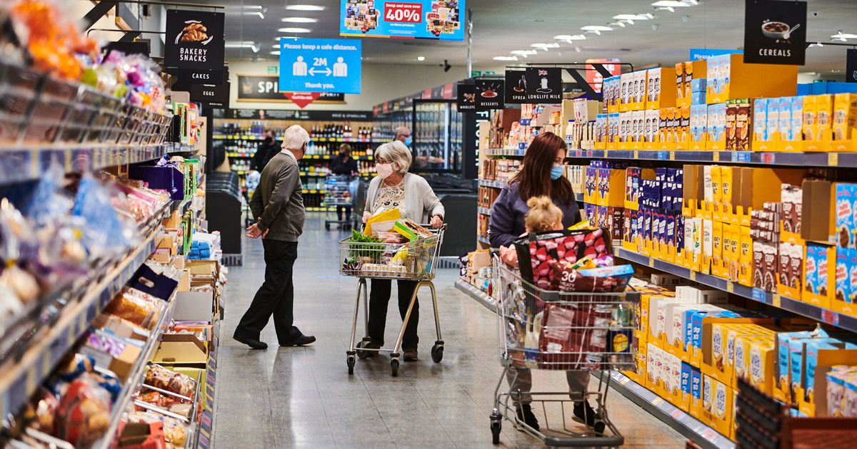 Aldi trialing store with no tills