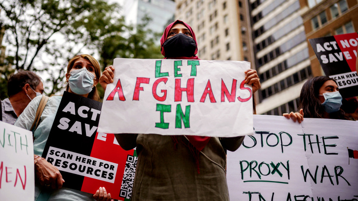 Americans Have A Long History Of Opposing Refugees. But Most Support Afghan Asylum Seekers.