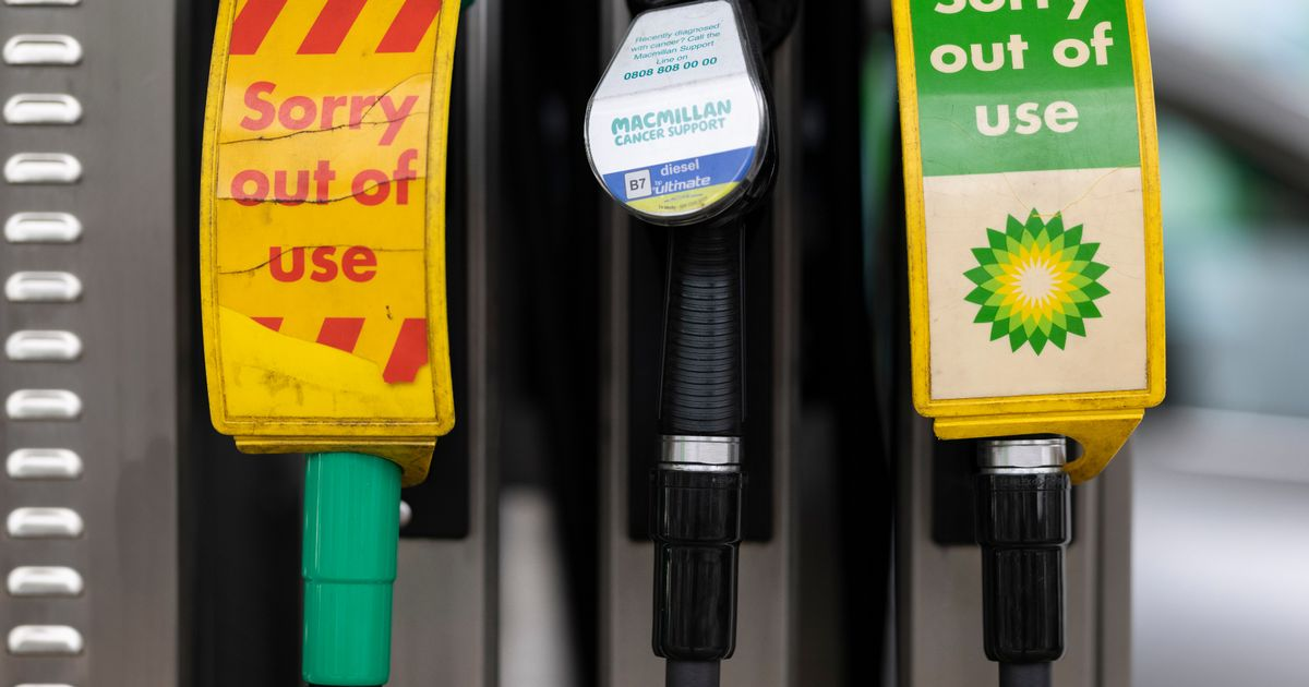 Army could be drafted in to deliver fuel as petrol stations forced to close