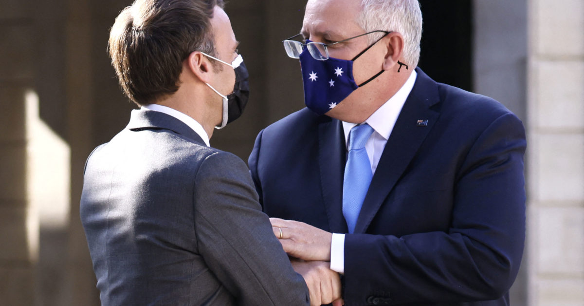 Australian PM says he told France sub deal might be scrapped