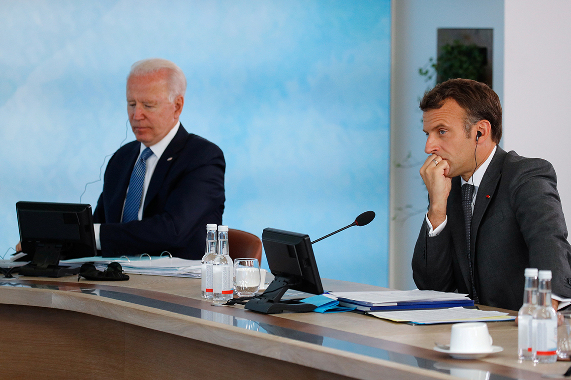 Biden commits to communication with France after submarine spat