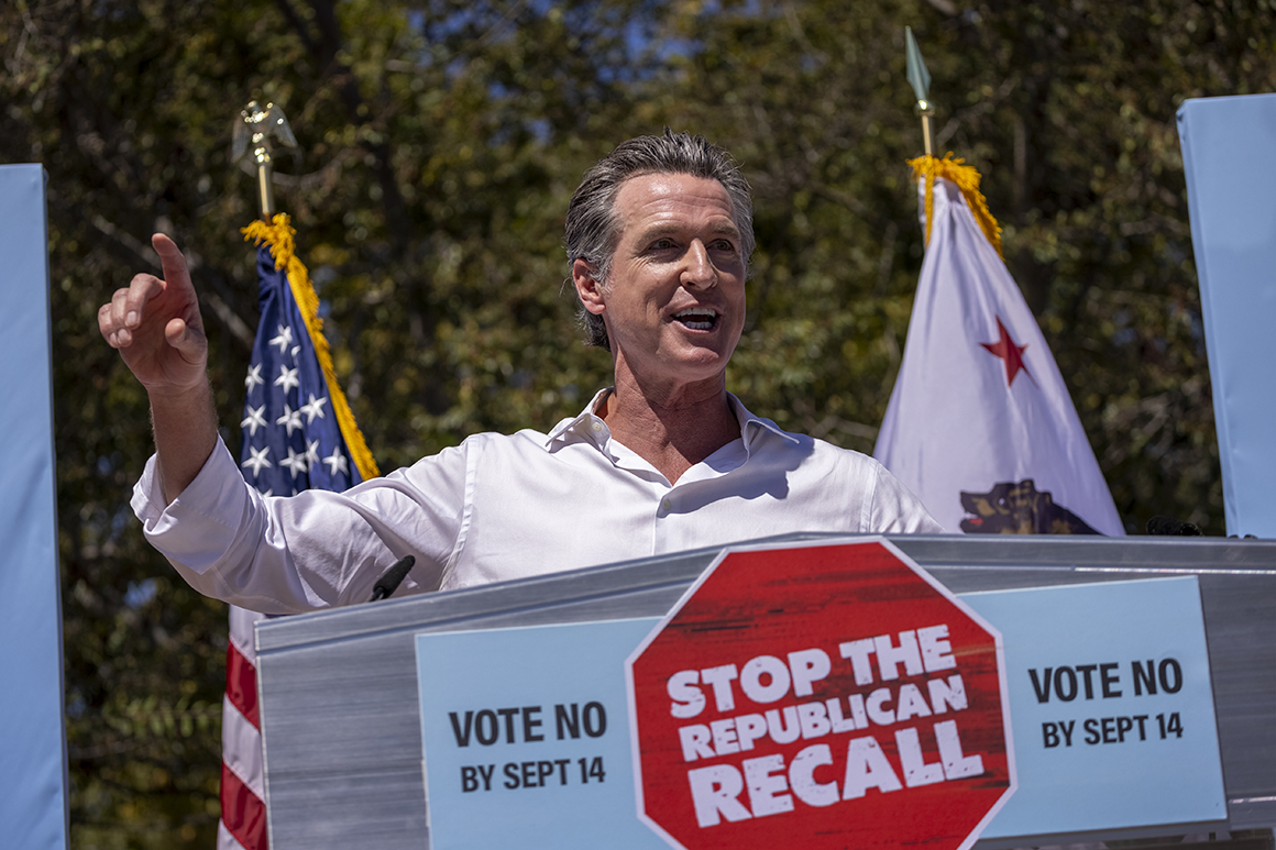 Biden to campaign for Newsom in California 'early next week'