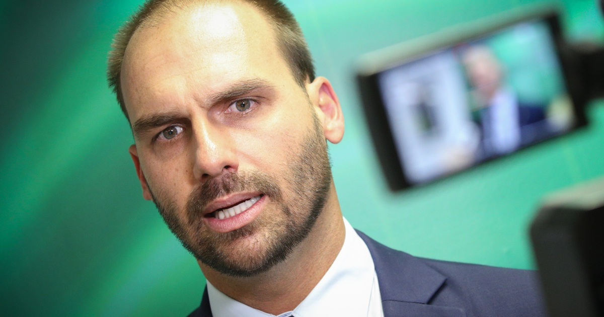 Bolsonaro's son and two Brazil cabinet members test positive for Covid-19