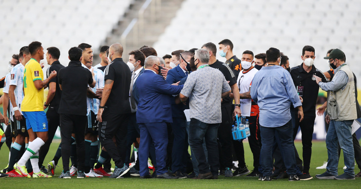 Brazil-Argentina soccer match suspended after 3 players didn't comply with Covid rules