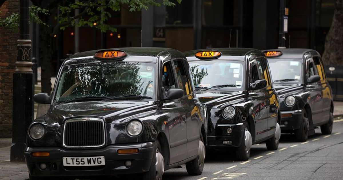 Brits abide by a strict code of 'taxi etiquette' - including no food in a cab