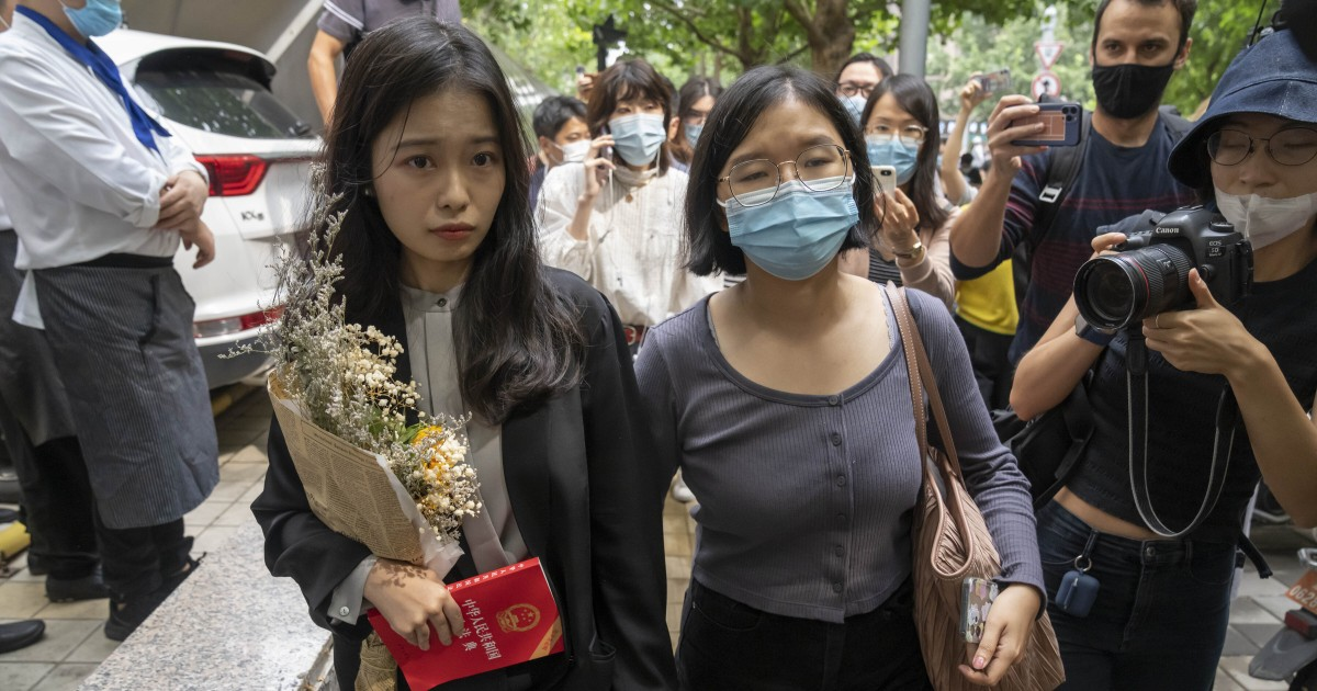 Chinese court rules against woman in major #MeToo case