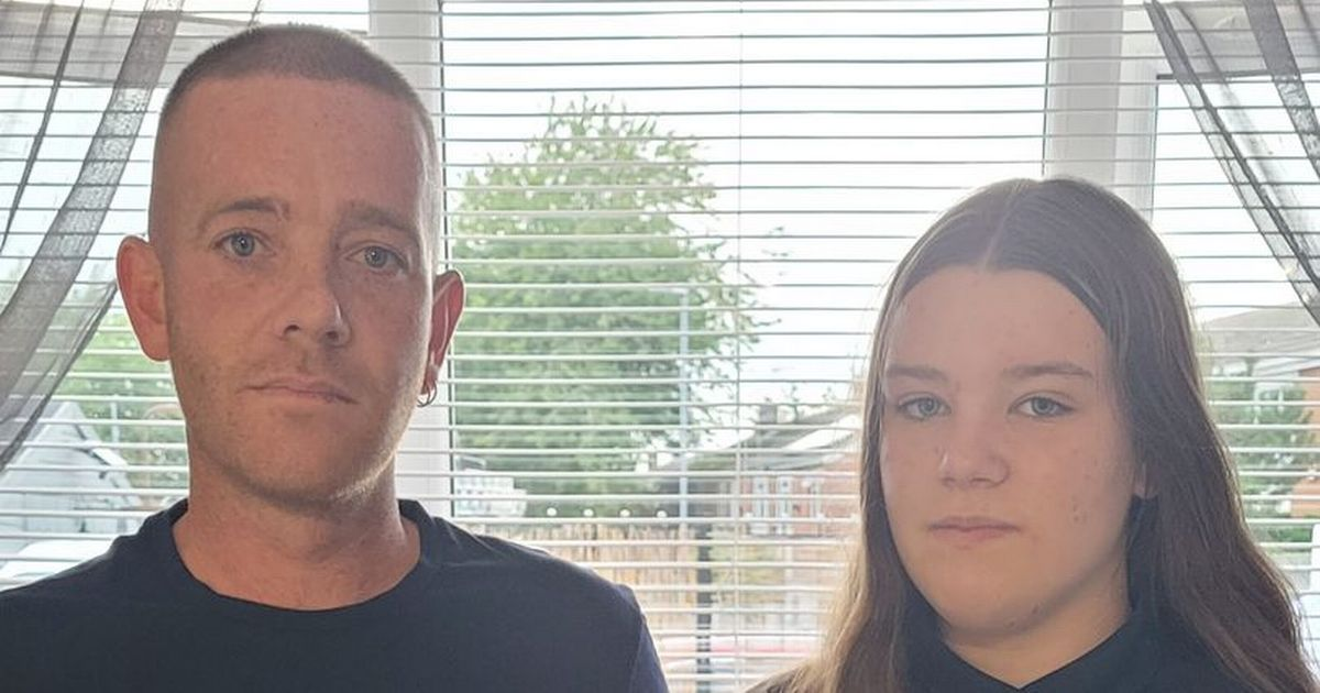 Dad says school 'like military camp' as daughter gets two-hour detention
