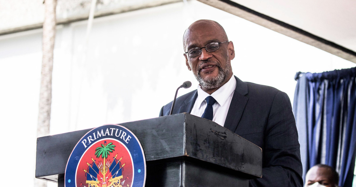 Haiti's chief prosecutor seeks charges against prime minister in president's assassination