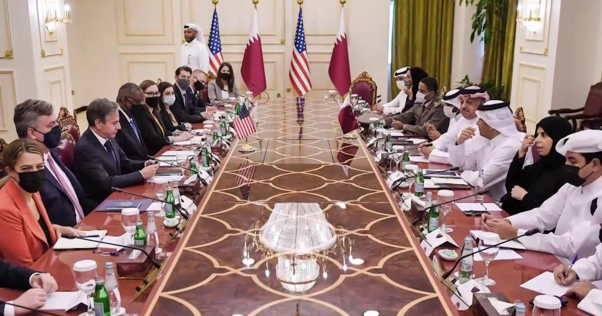 How Qatar's role in Afghanistan evacuations restored U.S. relations
