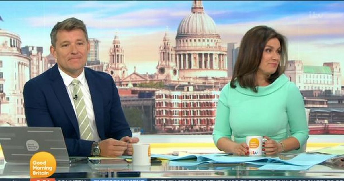 ITV GMB Susanna Reid embarrassed after misnaming person live on show
