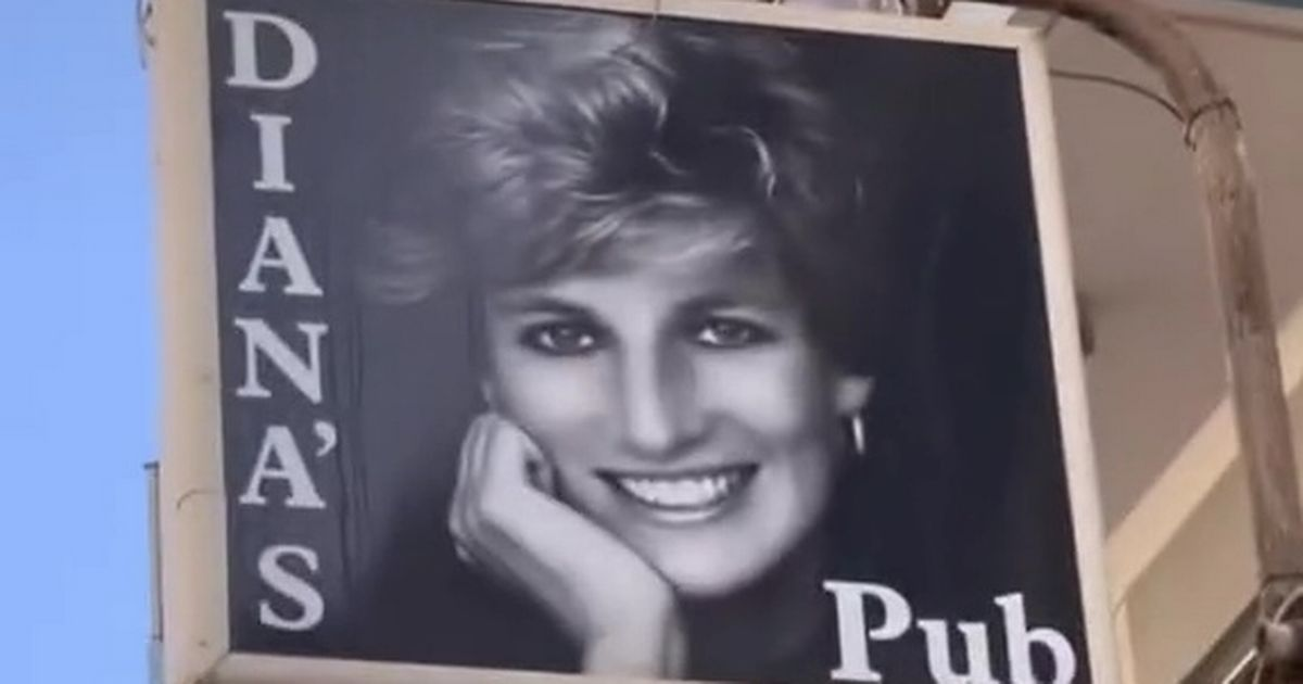 Inside Princess Diana-themed pub that's complete with souvenir photos and knick-knacks