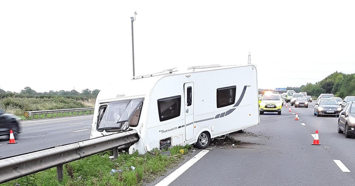 M5 travel hell after multi-vehicle smash on busy route from holiday resorts