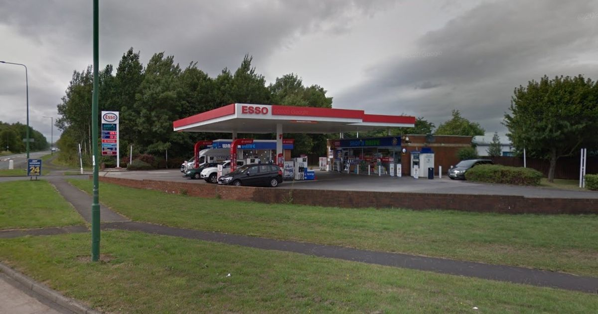 Man dies and teenager arrested after alleged 'late night assault' at petrol station
