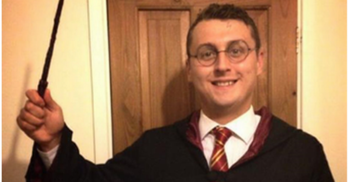 Meet the man whose real name is Harry Potter
