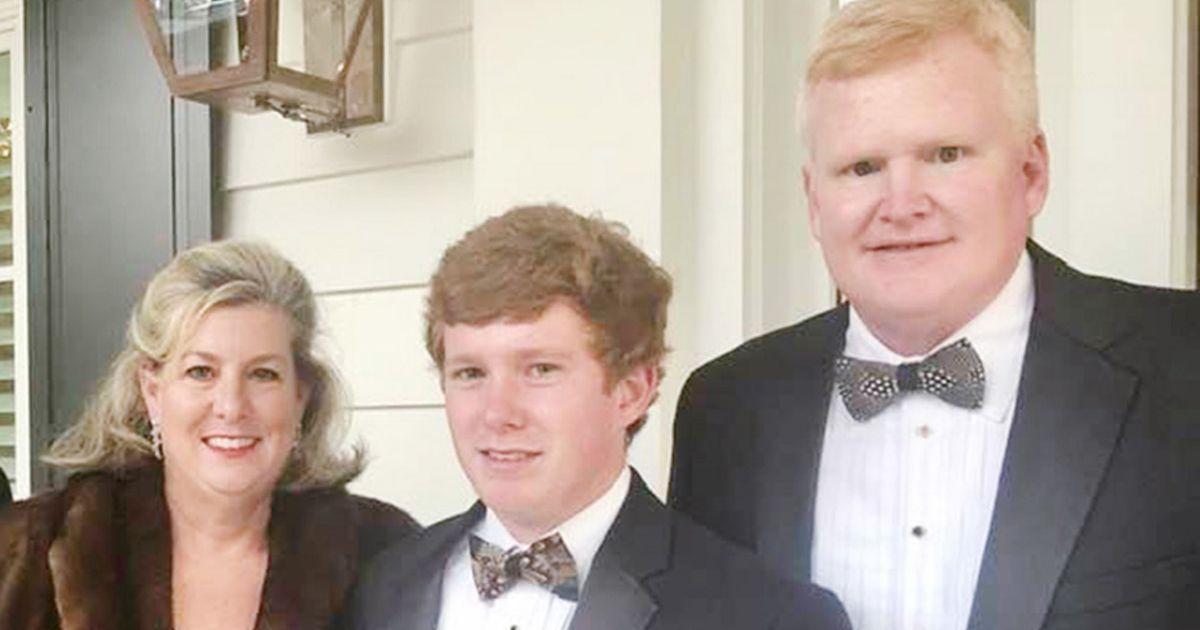 Alex Murdaugh (R), 53, has been shot in the head, just months after his wife Maggie and son Paul were shot dead
