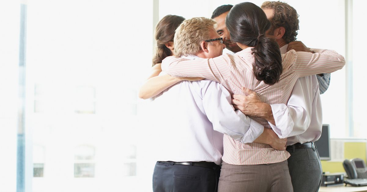 Mum 'sickened' after being hugged by her manager at work