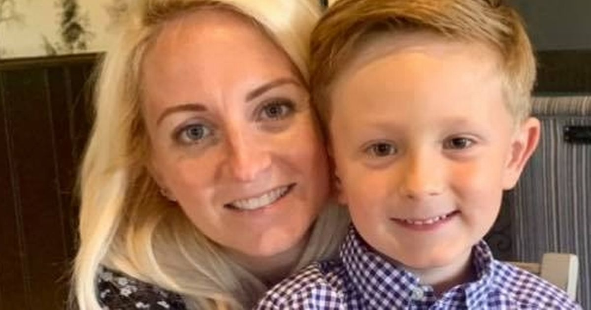 Mum's genius idea to stop son feeling anxious when he goes back to school